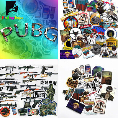 PUBG Stickers Gaming Stickers For Car Laptop Luggage Playstation Phone