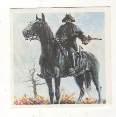 Horses in the Service of Man Trade Card - Dick Turpin and Black bess