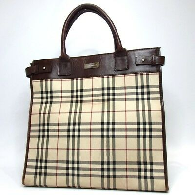 AUTHENTIC BURBERRY BENYARD Leather Tote -  500.00   PicClick 0b4772b2d3