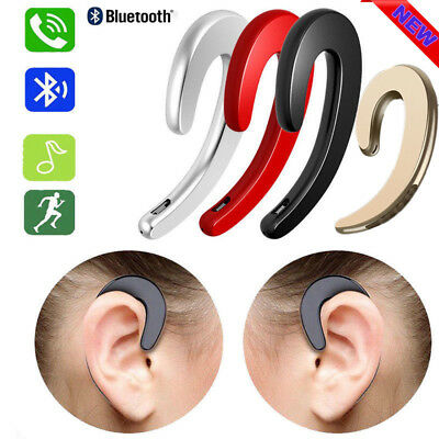 Ear Bluetooth Bone Conduction Headphones Stereo Wireless Earphone Headset MIC UK