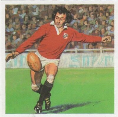 Rugby Union Card Gareth Edwards 1983