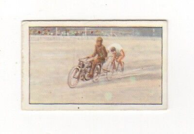 Rare Feats of Endurance Trade Card Cycling record by Jean Brunnier, France 1924