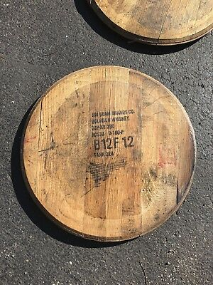 Bourbon/Whiskey Barrel Head/Top/Lid. Authentic distillery stamp