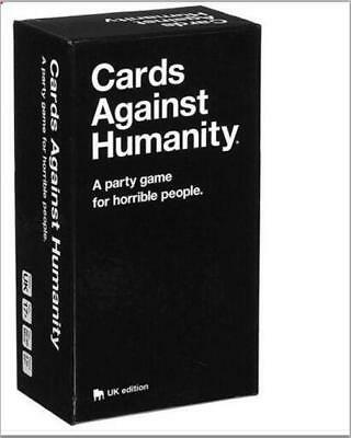 2019UK CARDS AGAINST HUMANITY BOARD PLAYING FAMILY BIRTHDAY PARTY UK card