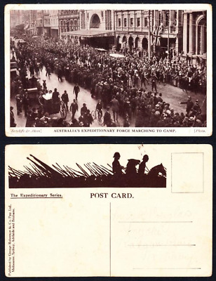 Post Card - The Expeditionary Series - Australia's Expeditionary Force Marching