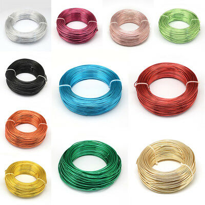 500 g 2mm Florist Aluminum Wire For DIY Crafts Jewellery Making about 55m/500g