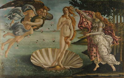 Sandro Botticelli The Birth of Venus Giclee Art Paper Print Poster Reproduction