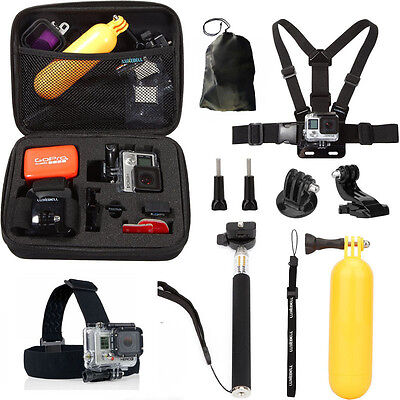 Hot Accessories set for Gopro go pro hero 3 4 6 5 Session SJCAM Xiaomi yi Kit Mo