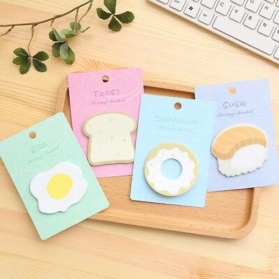1 PC Memo Pad Sticky Notes Stationery Post Note Paper Stickers Office Supplies