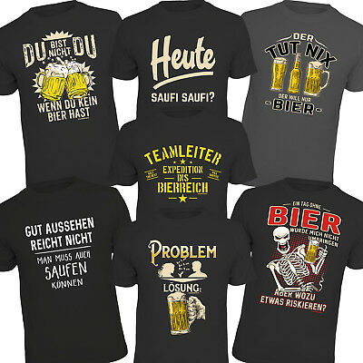 t shirt bier party spr che shirts geburtstag geschenke. Black Bedroom Furniture Sets. Home Design Ideas