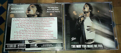 Michael Jackson - CD The Way You Make Me Feel (Remixes 1) - SPECIAL FAN EDITION