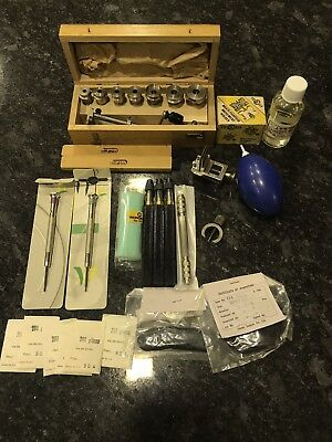 Watchmaker Watch Repair Tools Job Lot Bergeon Horotec/Mainspring Winder/poising