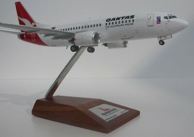 1/200 JC Wings Qantas Boeing 737-300 VH-TAZ 75th. Anniversary DIECAST METAL