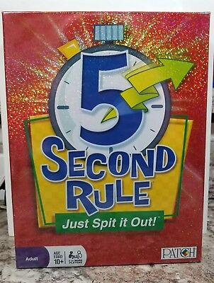 Patch 5 Second Rule Just Spit It Out Fast Paced Card Game