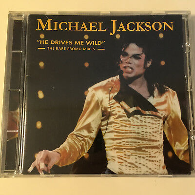 COLLECTORS CD Michael Jackson HE DRIVES ME WILD The Rare Promo Mixes