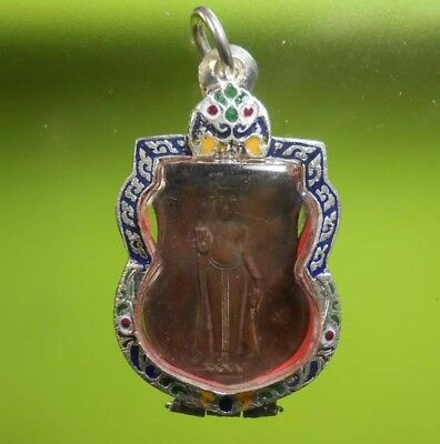 Perfect! Old Amulet Phrathammajak Very Rare From Siam !!!