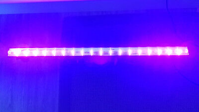 2 bars SHOWTEC Led UV + housse