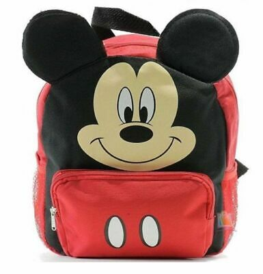 cb8214bebebb MICKEY MOUSE SMALL Toddler Cloth Backpack - Red -  19.99