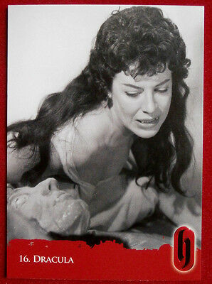 HAMMER HORROR - Series Two - Card #16 - Dracula - Strictly Ink 2010