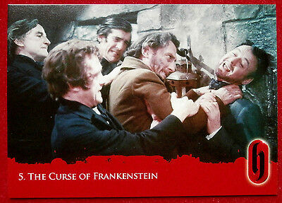 HAMMER HORROR - Series Two - Card #05 - The Curse of Frankenstein - Strictly Ink