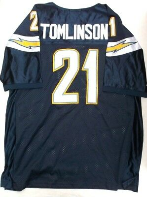 HOF Ladainian Tomlinson San Diego LA Chargers THROWBACK CLASSICS STITCHED Jersey