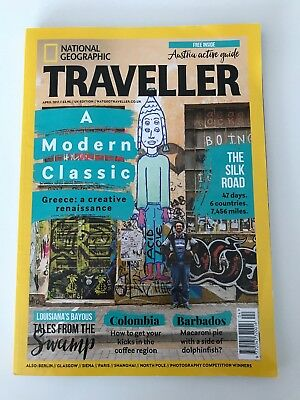 National Geographic Traveller UK Magazine April 2017 Greece, The Silk Road ++