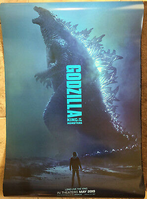 Godzilla KING OF THE MONSTERS Original 27x40 DS Theatrical Movie Poster 2019 NEW