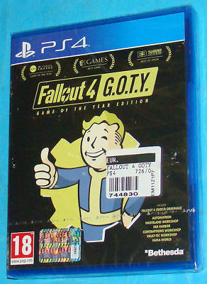 Fallout 4 - Game Of The Year Edition - Sony Playstation 4 PS4 - PAL New Nuovo