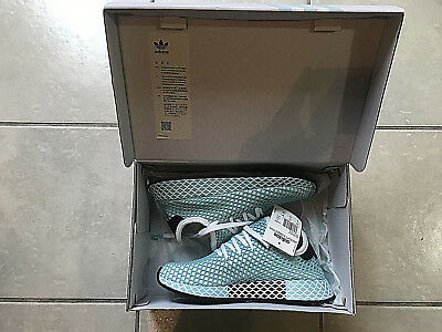 sneakers for cheap bc838 738ea Adidas Originals Deerupt Runner Parley Women Sneaker Shoes Size 7