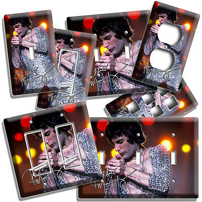 Freddie Mercury Rock Queen Lead Singer Light Switch Wall Plate Outlet Room Decor