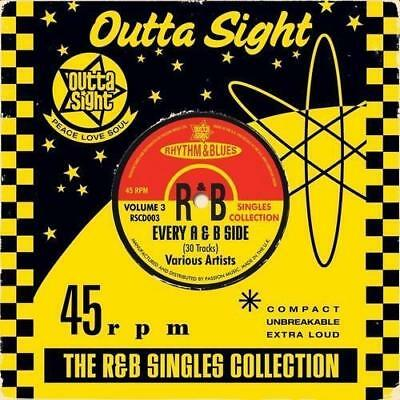 R&b Singles Collection Volume 3 New & Sealed Cd (Outta Sight) Northern Soul