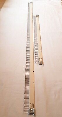 Original Brother Knitting Machine Punch Card 4.5Mm Gauge Cast On Comb Set 2 Pc