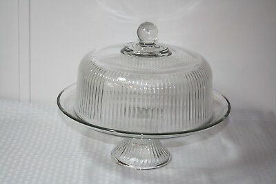Vintage Cake Stand with Dome