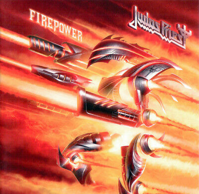 CD: Judas Priest ‎– Firepower - 2018 Release * Fast FREE Shipping *
