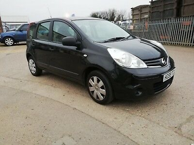 Nissan Note Visia 1.4 Petrol 5 Speed Manual Damaged Salvage Repairable