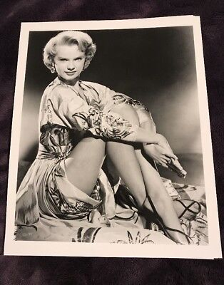 Vintage 8 X 10 Photograph From Irving Klaws Archives Of Anne Francis- Actress