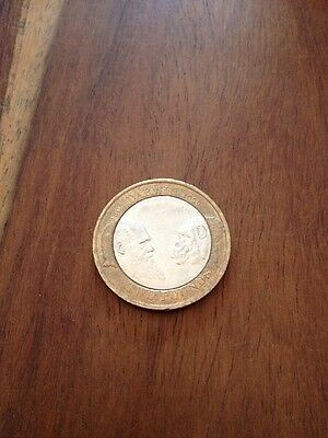 Rare 2009 - Charles Darwin 200Th Anniversary Two Pound £2.00 Coin Uk, Circulated