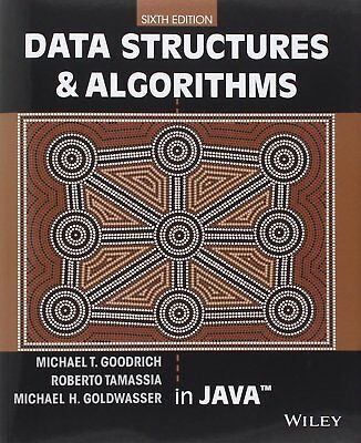 |e-Version| Data Structures & Algorithms in Java 6th Ed by Goodrich et al.