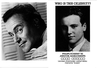 JACK LEMMON - 2 NEW post cards - Photos from the 1940s & 1950s. Out of print.
