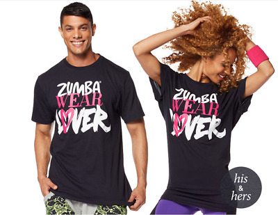 NWT Zumba Wear Lover Tee - One Size Fits Most