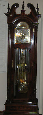 "Howard Miller ""devonshire Hall"" Grandfather Clock Model 610-731"
