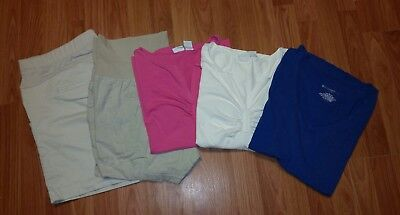 5 PCS Spring/Summer Maternity Clothes Lot - Size Large