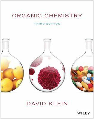 |e-Version| Organic Chemistry 3rd Edition + Solutions Manual by Klein