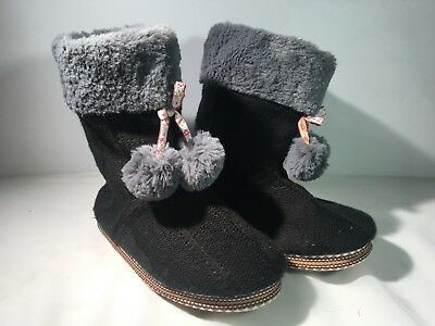 093ee3f105d PJ COUTURE WOMEN S Gray Colorful Pom-Poms Slippers TPR -  14.99 ...