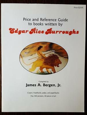 Edgar Rice Burroughs Price and Reference Gude - James Bergen - signed