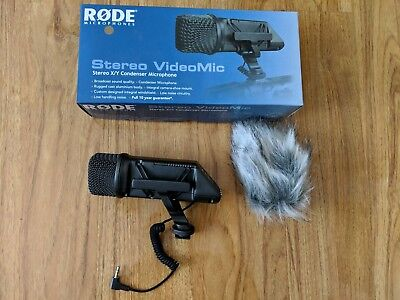 Rode Stereo VideoMic Stereo X/Y Condenser Microphone (SVM)