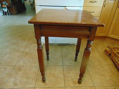 /antique  stand  with drawer    # 3080