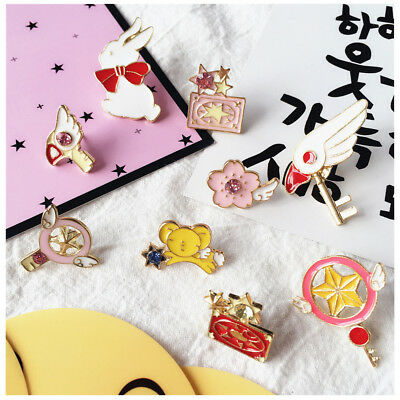 Card Captor Sakura Inspired Enamel Pin Brooch