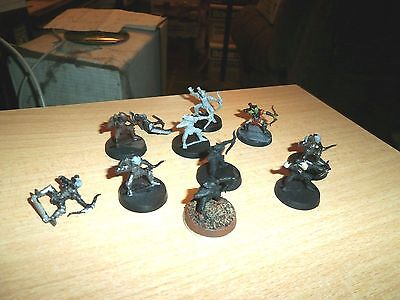 28mm Lord of the Rings 11 PLASTIC Mordor GOBLIN  Archers by Games Workshop