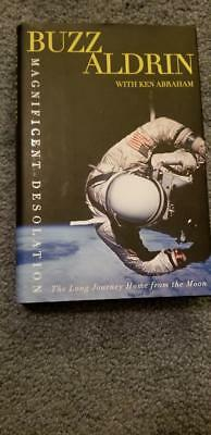 Magnificent Desolation Signed Buzz Aldrin autograph FIRST EDITION